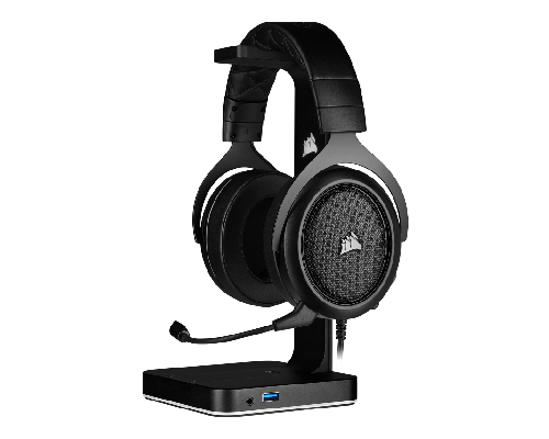Corsair HS50 Pro Stereo Gaming Headset Carbon/Zwart